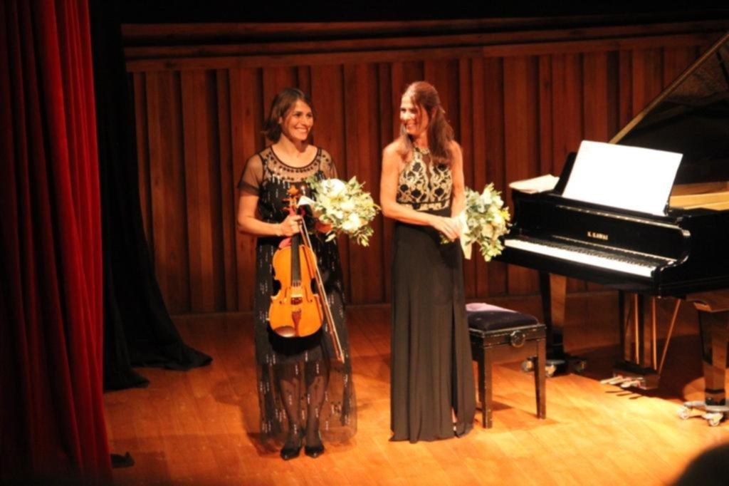 Concierto emotivo y a sala llena en el Teatro de Cámara
