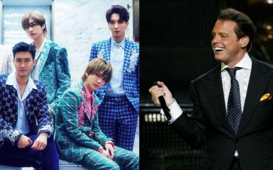 Reconocida banda surcoreana de k-pop surcorena estrenó clip con el homenaje a Luis Miguel