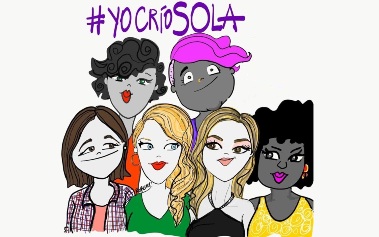 #YoCríoSola, el hashtag que se impuso en las últimas horas en las redes