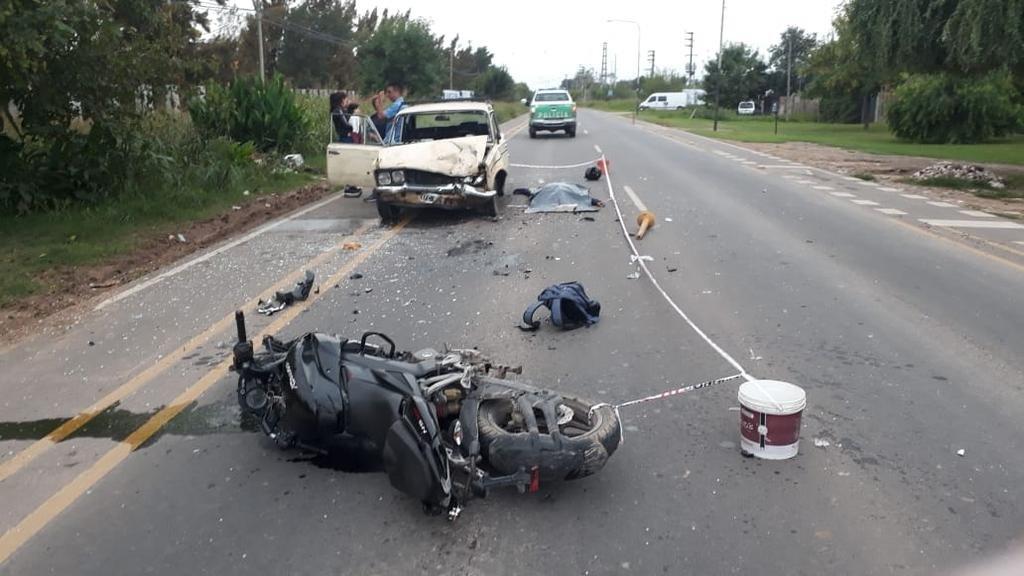 Otro motociclista fallecido por un choque en la Región