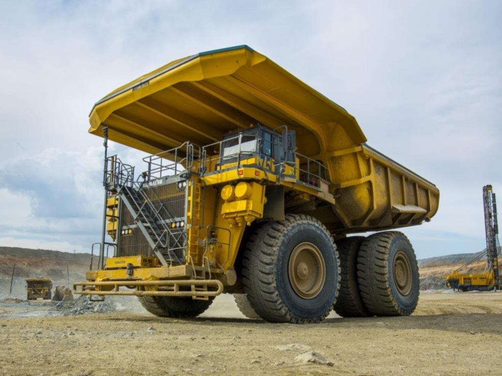 Camión minero, el vehículo eléctrico más grande del mundo