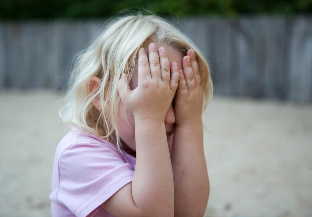 Los niños que son altamente sensibles necesitan más espacio