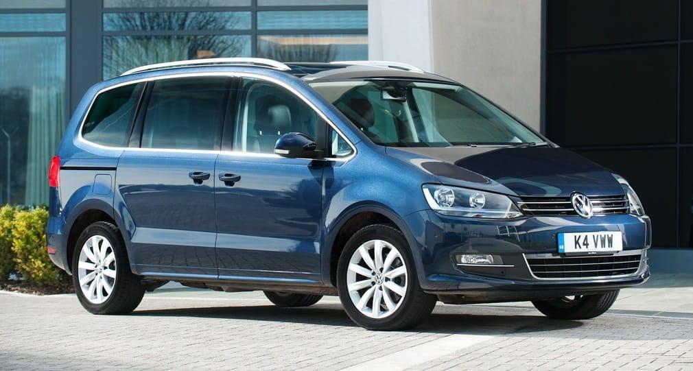 Volkswagen celebra la unidad un millón del Sharan