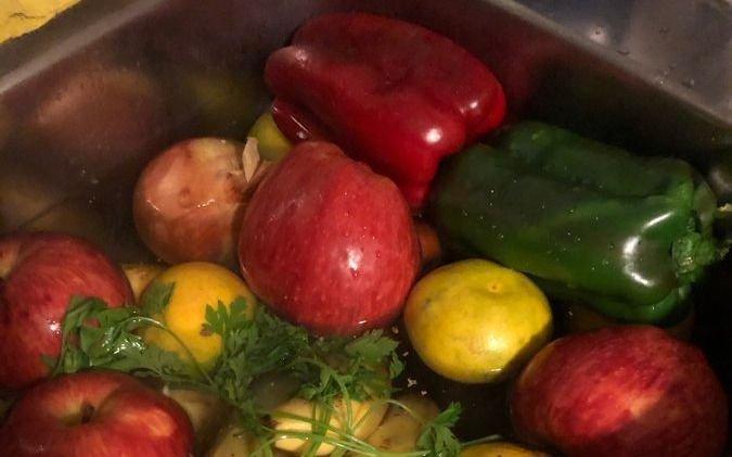 Paso por paso, cómo desinfectar los alimentos antes de consumirlos