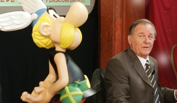 """A los 92 años, murió Albert Uderzo, el """"padre"""" de Asterix"""