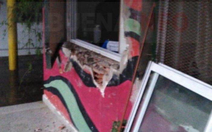 Indignación y tristeza por otro robo a una escuela en San Lorenzo