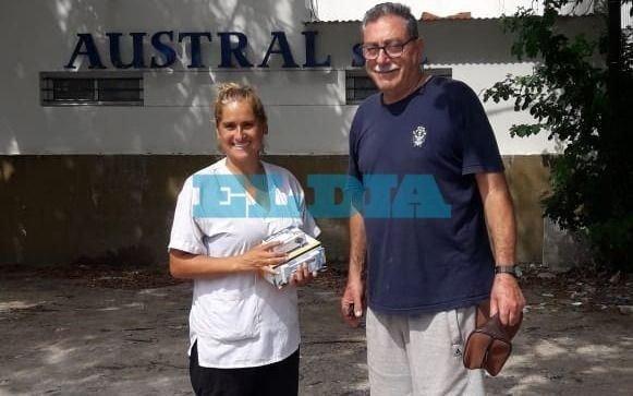 Tras la publicación de EL DIA: apareció una mano solidaria y la enfermera asaltada pudo recuperar sus herramientas
