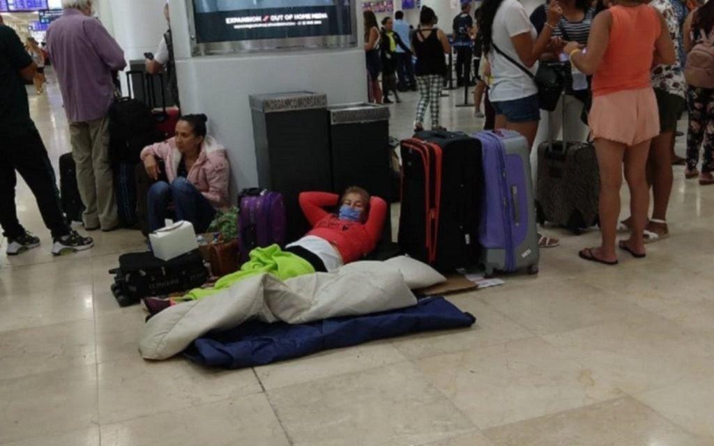 Suspenden los vuelos de repatriación de argentinos varados