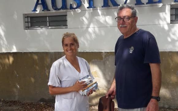 La enfermera asaltada en Berisso ya tiene sus elementos de trabajo