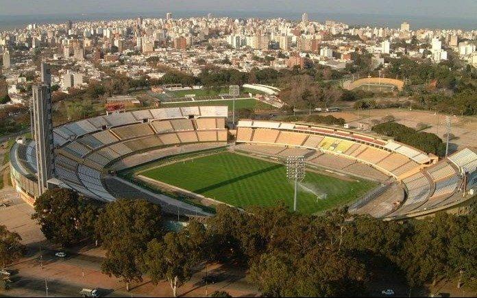 El Estadio Centenario de Uruguay convertido en albergue por el coronavirus