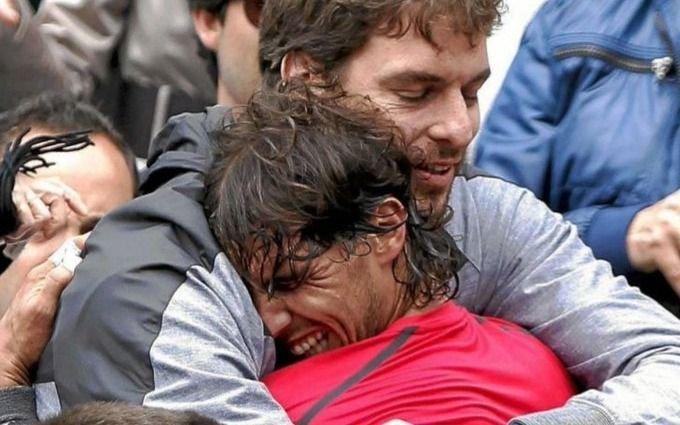 Nadal y Gasol se pusieron una campaña al hombro y juntan fondos para infectados en España