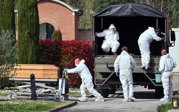 Italia superó las 10 mil muertes por coronavirus