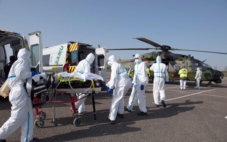 Francia tiene 319 nuevos muertos por coronavirus y suma 2.314 fallecidos