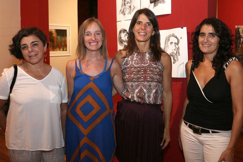Ellas exponen su arte en el Centro Cultural Malvinas
