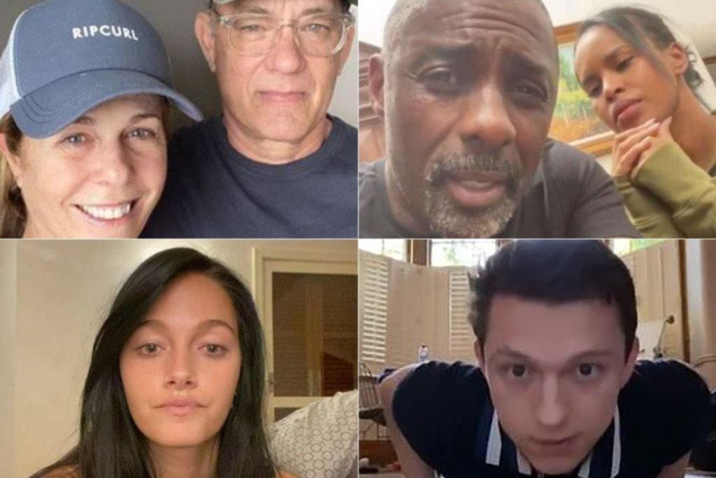 No discrimina: aunque se encierren en sus mansiones, la pandemia llega a los famosos