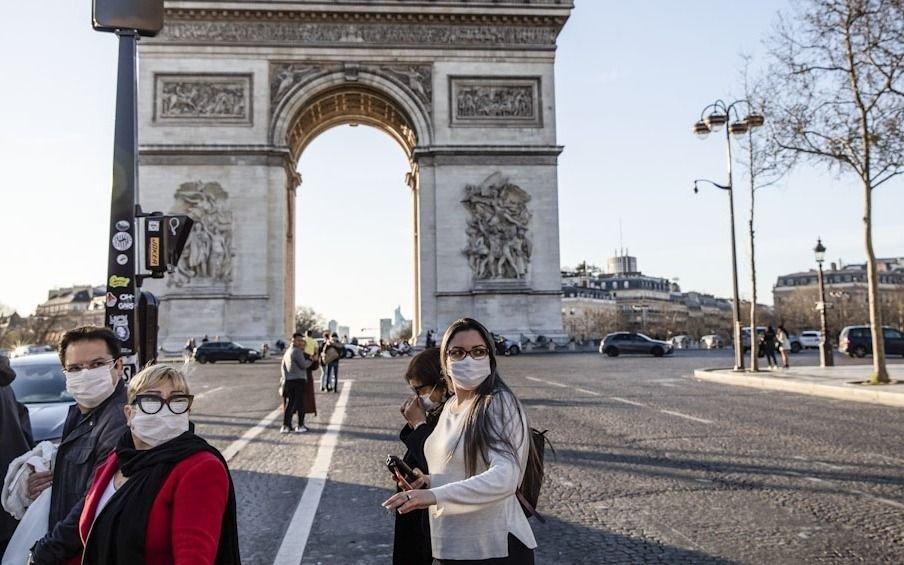 Francia superó los 3.000 muertos por coronavirus