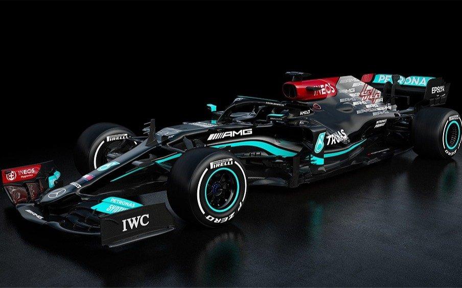 """El nuevo Mercedes Benz de Hamilton, lo más parecido al """"auto fantástico"""""""