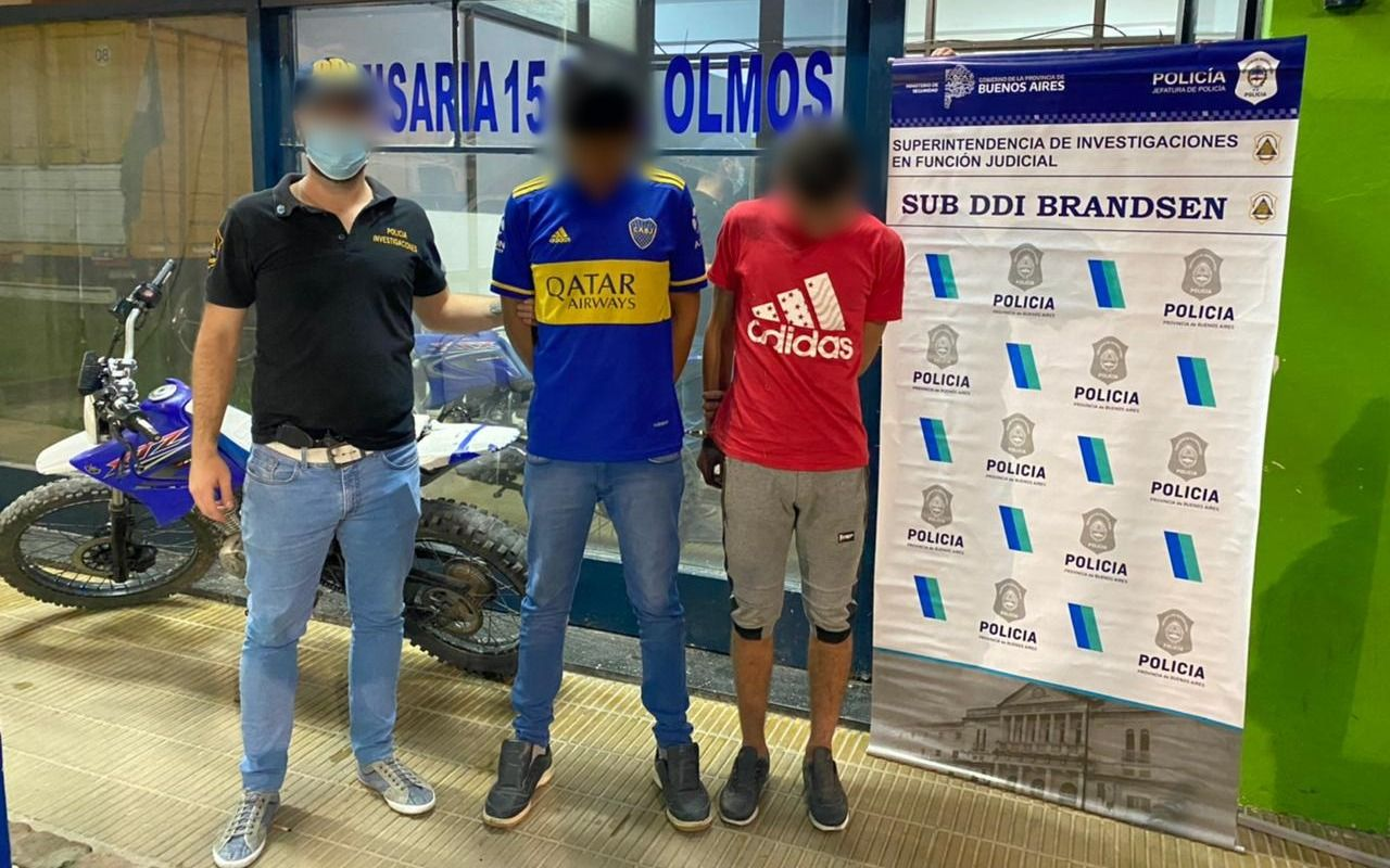 Detienen a dos jóvenes por el robo en una vivienda en El Rodeo