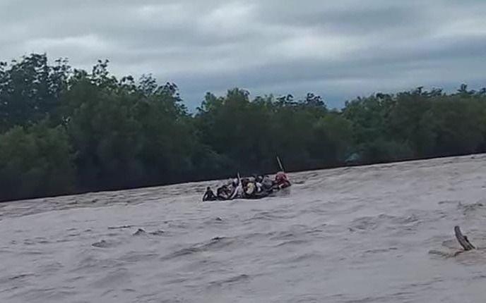 Se hundió otro gomón en el Río Bermejo: al menos un muerto y un desaparecido
