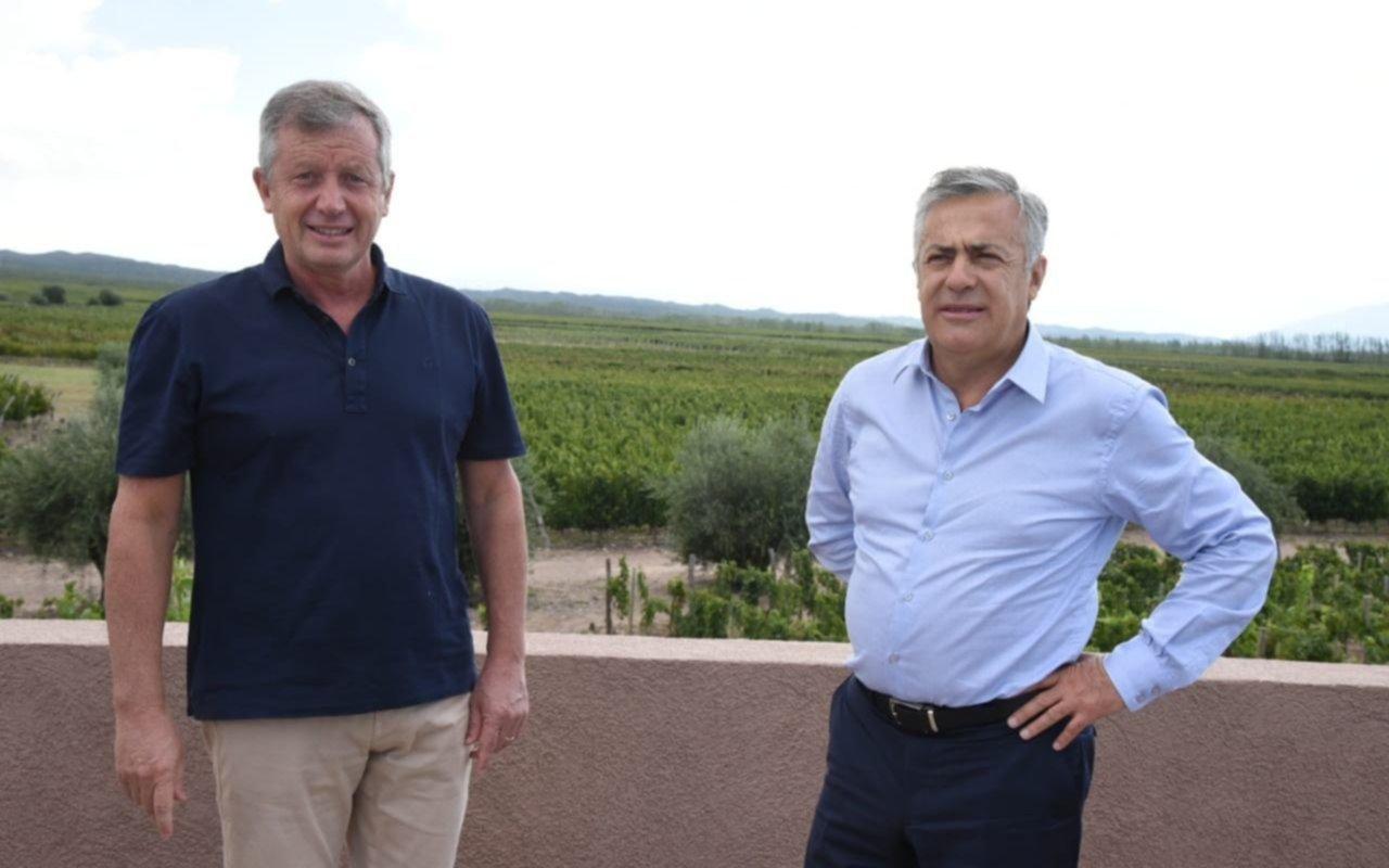 Monzó y Cornejo analizaron el futuro de Juntos por el Cambio en Mendoza