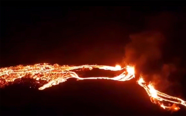 El volcán de Islandia que despertó luego de 800 años: las impactantes imágenes