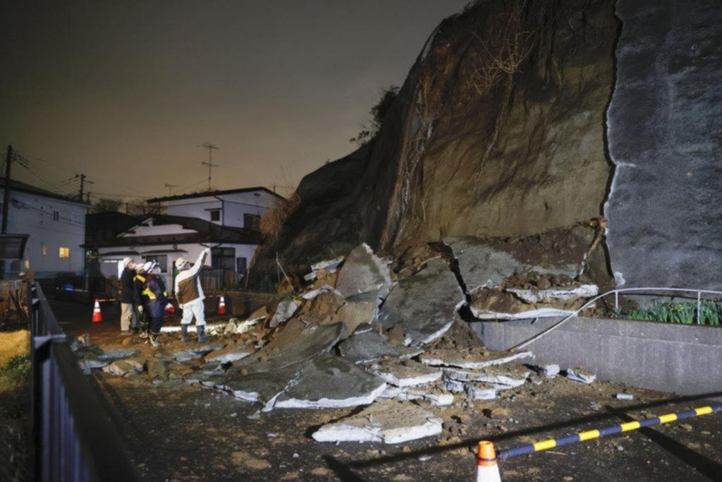 Un potente terremoto de magnitud 7 sacudió los edificios de Tokio