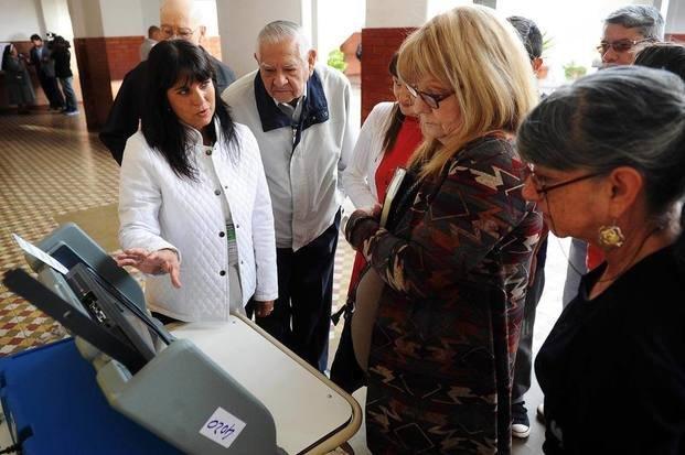 Por primera vez una provincia utilizó el sistema completo de voto electrónico