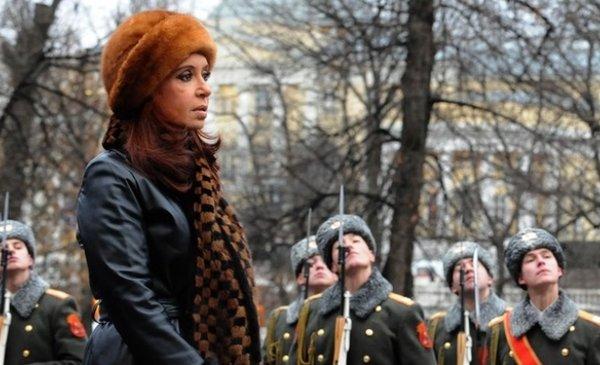 La Presidenta viaja a Rusia - El país