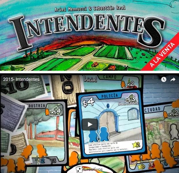 """""""Intendentes"""", un juego de mesa creado por platenses"""