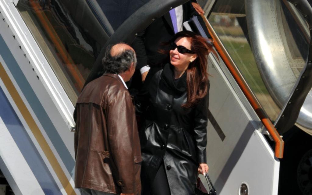 Cristina espera el permiso de Bonadio para su gira por Europa