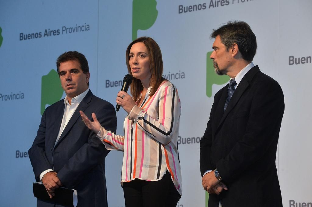 Vidal salió a defender a los dos ministros apuntados por Carrió