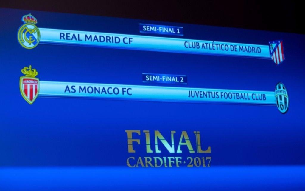 Se hizo el sorteo y ya están las semifinales de la Liga de Campeones