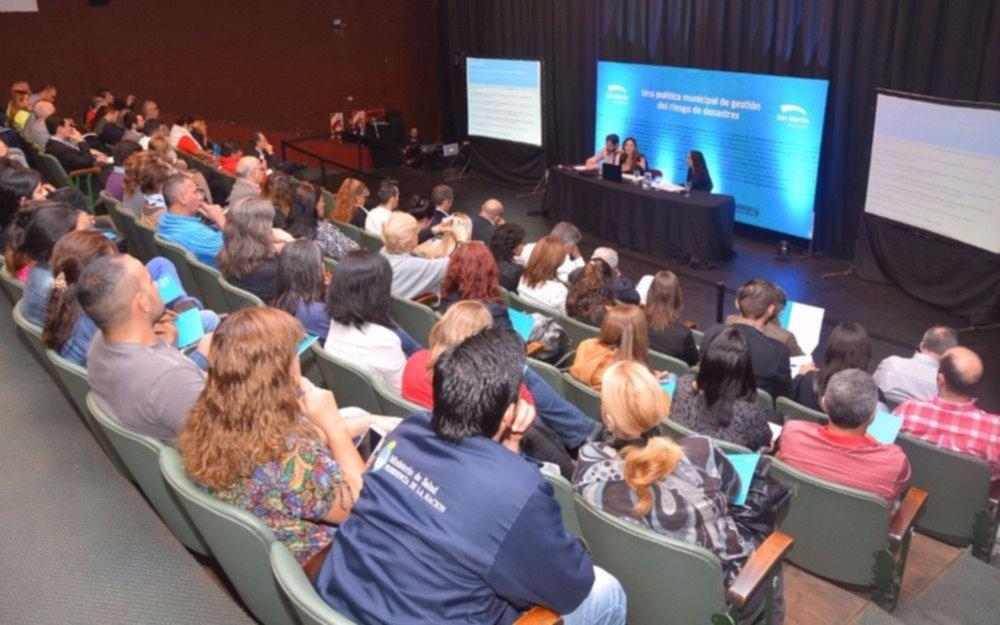 San Martín presentó el Plan de Acción en Política de Gestión de Riesgo para 2017