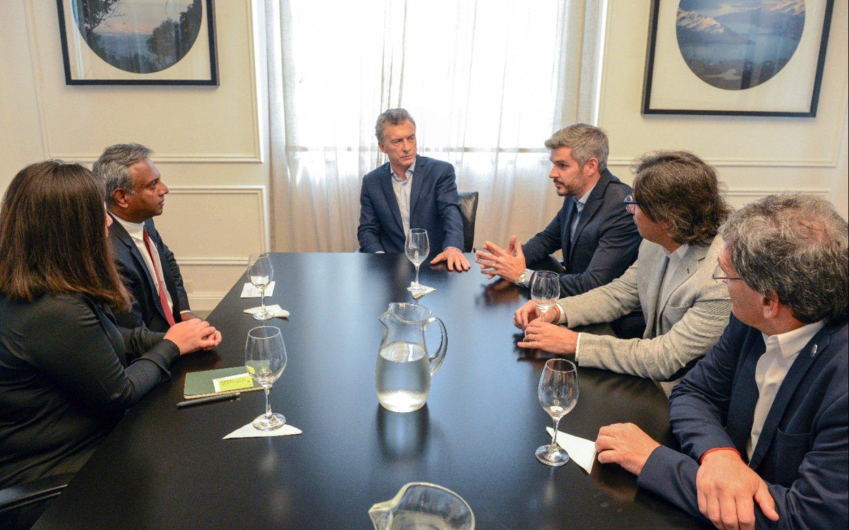 Se reúne Peña Nieto con vicepresidente de Estados Unidos
