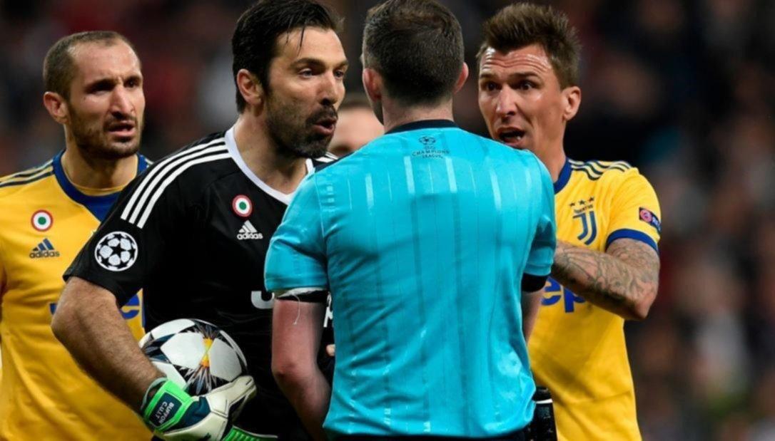 Juventus: Policía investiga amenazas contra la mujer del árbitro del Real Madrid
