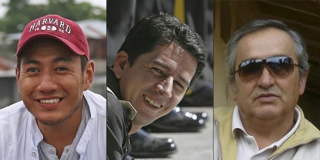 """Disidentes de las FARC suspenden entrega de cuerpos de periodistas ecuatorianos"""""""