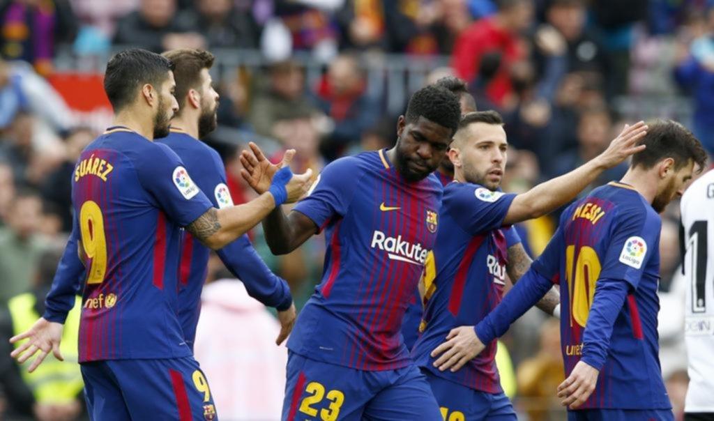 Barcelona ganó y estableció un nuevo récord