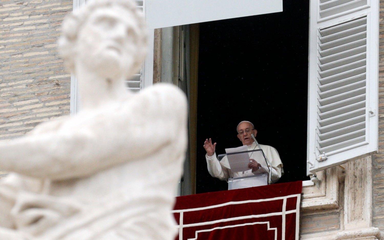 Papa Francisco reclama una