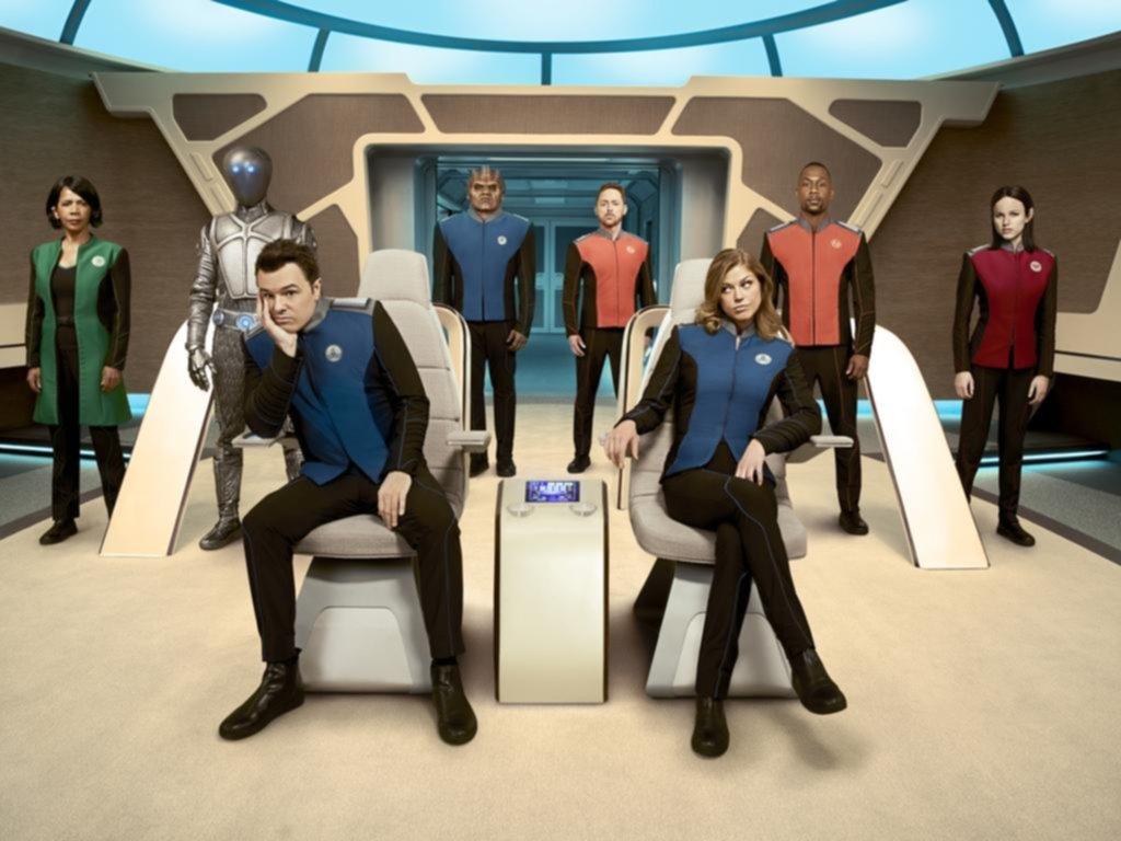 """Debut para """"The Orville"""": el ácido creador de """"Padre de familia"""" se ríe de """"Star Trek"""""""
