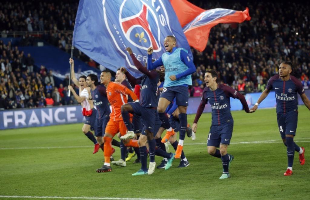 PSG goleó a Mónaco y se quedó con la Liga