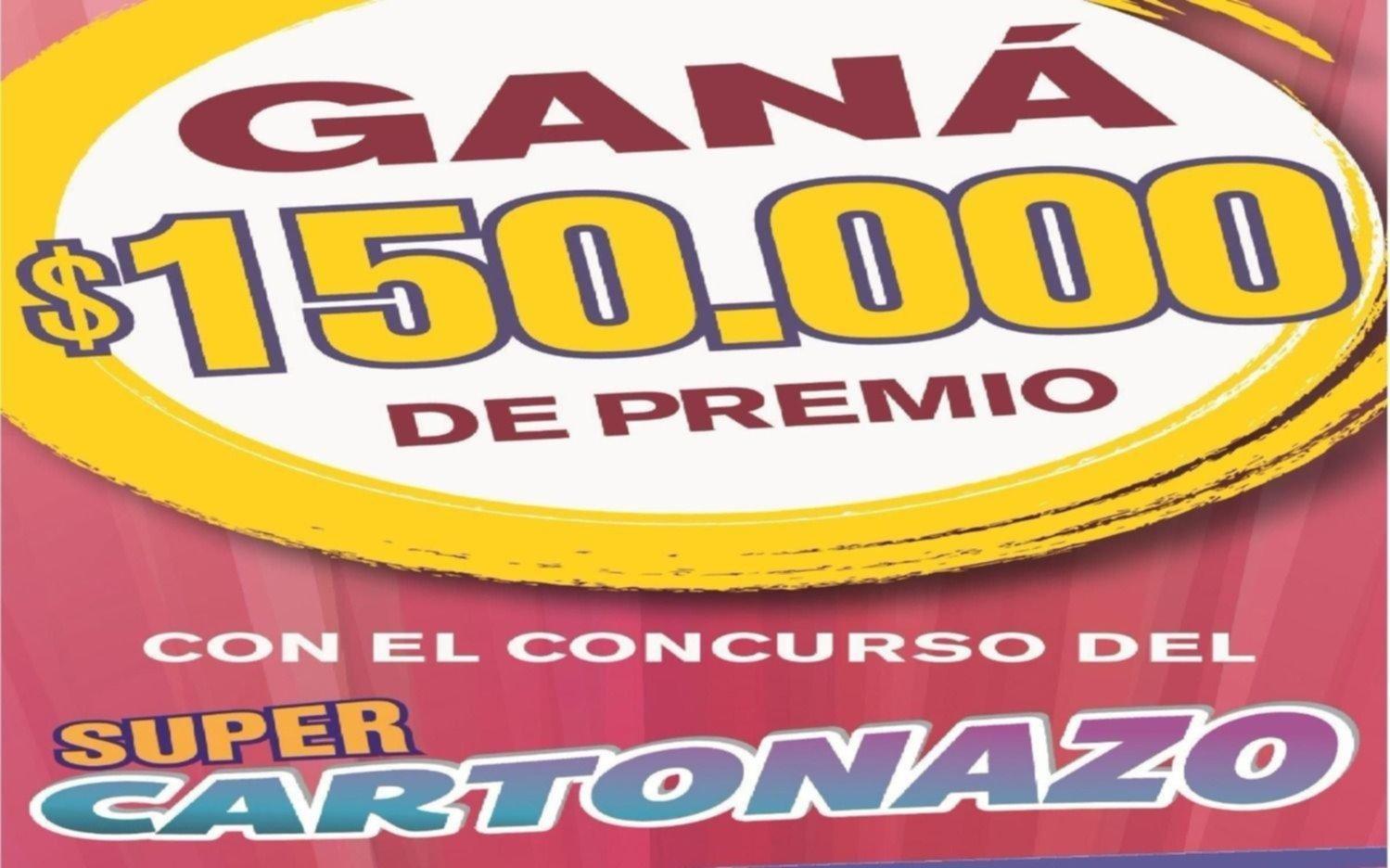 Controlá El Cartonazo, podés ganar $150.000
