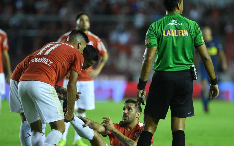"""Penel, sobre el supuesto penal para Boca: """"Estoy seguro, la pelota no le pegó en el brazo"""""""