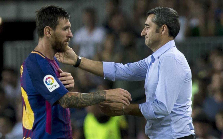 """""""Messi está bien, que estén tranquilos los argentinos"""", expresó el técnico de Barcelona"""