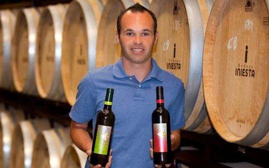 Andrés Iniesta llevará a China su fútbol y... sus vinos