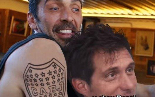 La desopilante parodia del pase de Buffon a Boca
