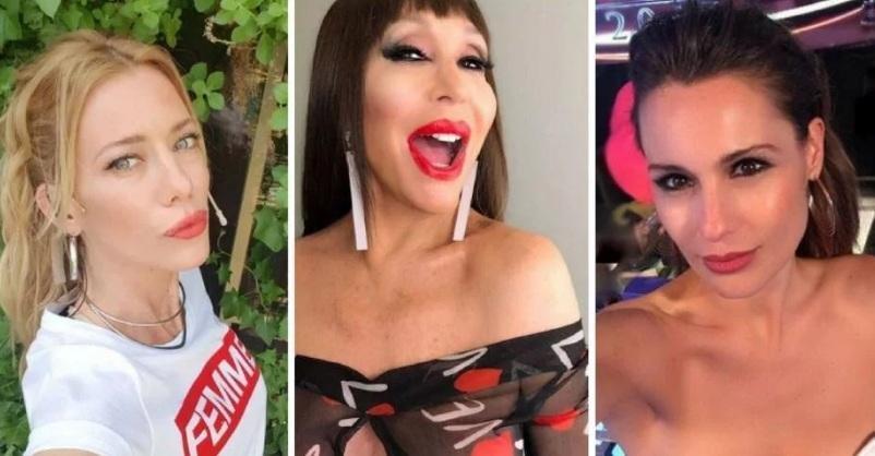 Moria Casán lapidaria, atendió a Nicole Neumann ya Pampita: