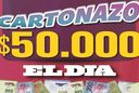 Controlá el Cartonazo, podés ganar 50 mil pesos