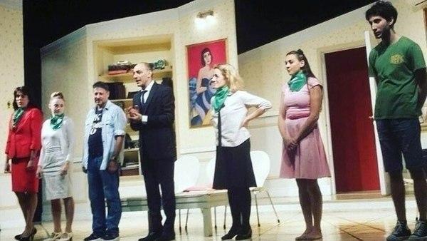 Escándalo en la obra de teatro más exitosa por el aborto