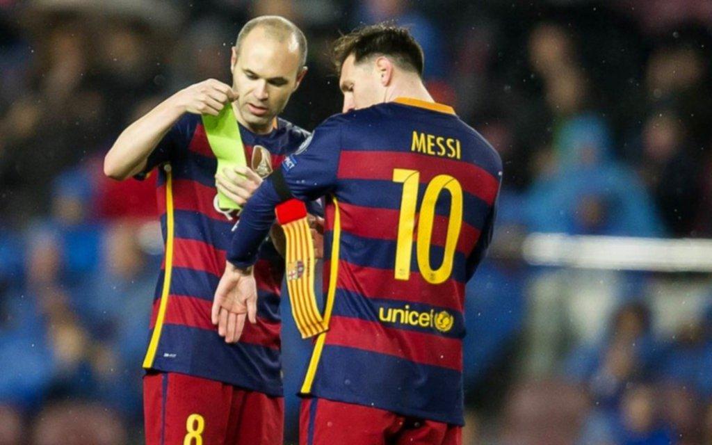 Entre lágrimas, Andrés Iniesta confirma su salida del Barcelona