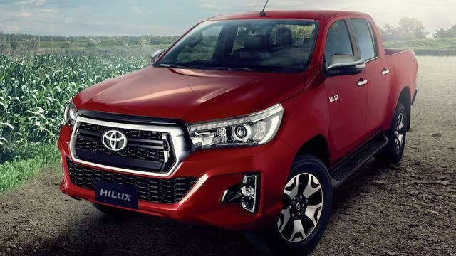 Toyota Hilux lideró un mes para el olvido